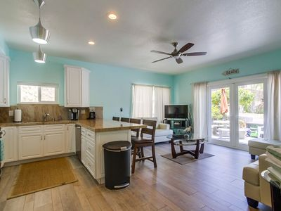 Photo for *ON SPECIAL* REMODELED Beach Home w/ Private Front Patio, AC, BBQ, 2 Parking!
