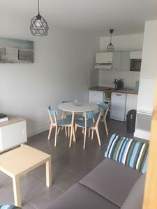 Photo for Saint Jean de Luz apartment T2 recent and calm residence with parking while walking