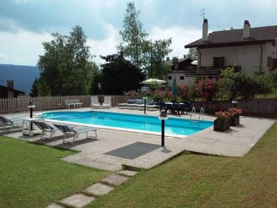Photo for Holiday apartment San Martino d'Alpago for 2 - 4 persons with 2 bedrooms - Holiday apartment