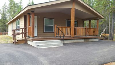Photo for Close to West Yellowstone, very roomy.  One mile off Highway 20 and Mack's Inn.