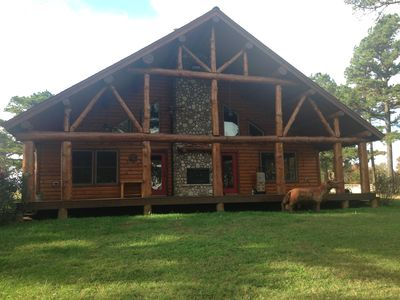Rustic Log Home in the Pines ****OCTOBER SPECIAL****        Inquire for details