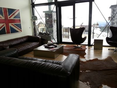 Well appointed lounge area with beautiful views and high quality furniture