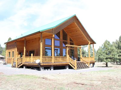 Photo for Greer Ranch Secluded Cabin In The Woods