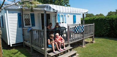Photo for Camping L'Océan ***** - Mobile Home Emotion 4 Rooms 6 People