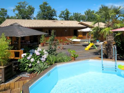 Photo for Vacation home Ti Kaz Doudou (LPO150) in Le Porge - 6 persons, 3 bedrooms