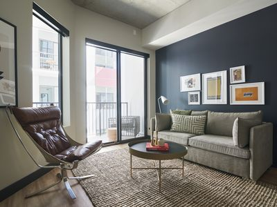 Photo for Sonder | Mill Ave | Playful 1BR + Sofa Bed
