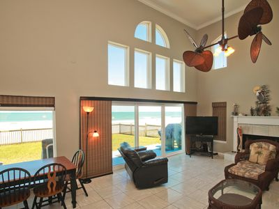 Photo for Main Living Area is on the Ground Floor with Great Ocean Views!