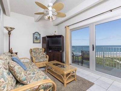 Photo for Aquarius 606 - Charming Oceanfront Condo, Spectacular Ocean Views, Dazzling Beachfront Swimming Pool & Spa