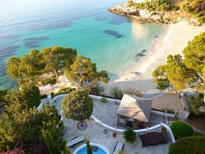 Photo for Villa With Spectacular Sea View, Acces Direct access to the beach.