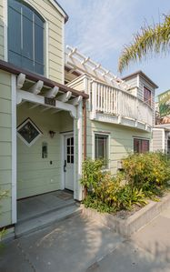 Photo for BEACHY KEEN condo, 2 Bedroom, Sleeps 4, steps from beach, rooftop BBQ