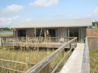 Photo for High Dune, Classic Nostalgic Gulf Front in Dune Allen