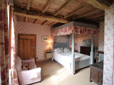 Photo for Avail3-10 August-Idyllic Napoleonic Farmhouse with large pool and panoramic view