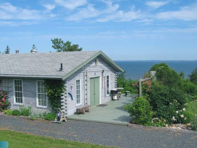 Photo for Log Cabin Cottage - Point Prim, Prince Edward Island