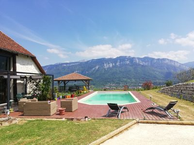 Photo for The idyllic Barn Bonal, Relaxation and dream view in the heart of the Chartreuse