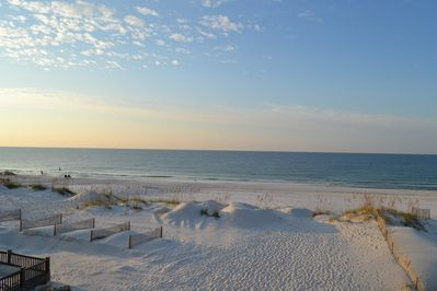 Morning View from the Master Bedroom Balcony. It is absolutely breathtaking...