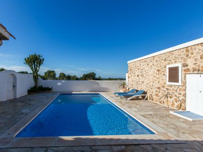 Photo for Villa Verde with sea views for 6 guests, only 2.5km to Ibiza beaches! Catalunya Casas