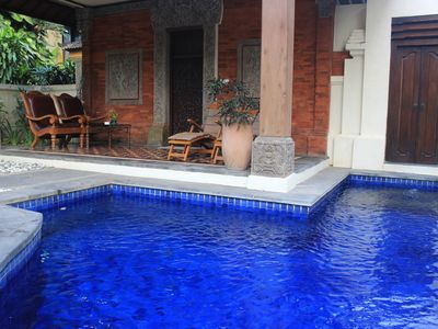 Photo for Lovely 1 BR Beachfront Villa in Sanur