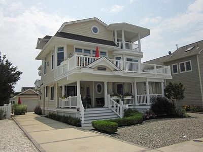 Photo for GORGEOUS BEACH BLOCK CUSTOM 3 STORY CONTEMPORARY HOME w/PRIVATE IN-GROUND HEATED POOL!