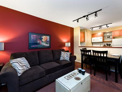 Photo for 100 Glaciers Reach this 1br home has a hot tub & pool in Whistler Village