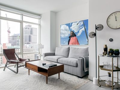 Photo for Stylish 1BR | Lounge Area | Downtown by Lyric