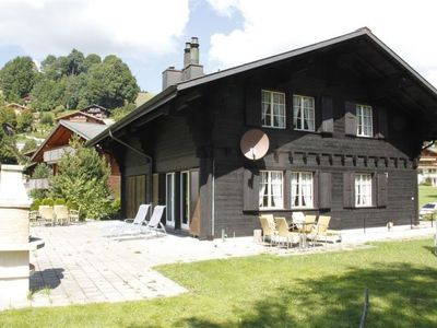 Photo for Apartment Carina (rechts)  in Schönried, Bernese Oberland - 6 persons, 3 bedrooms