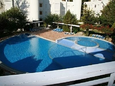 Photo for Apartment with Private Roof Terrace, Fabulous Pool and Gardens License L12E10237