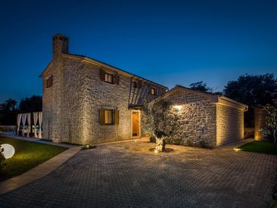 Photo for Stone Villa Paula, in Dalmatia, with a Pool
