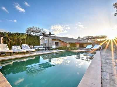 Photo for Villa Can Pulit with a special charm in the heart of a picturesque village