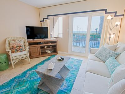 Photo for Holiday Surf Unit 213 Gulf Front 2 bdrm