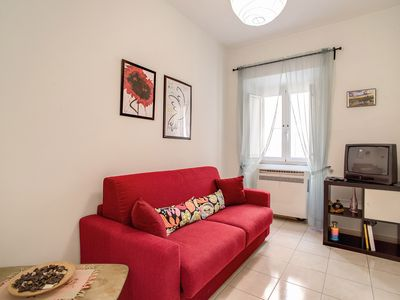 Photo for Domus Alexander apartment in Via Veneto with WiFi, air conditioning & lift.