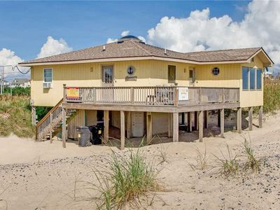 Photo for Perfect Cozy Island Cottage for Couples! Oceanfront Rodanthe, Right on the Beach