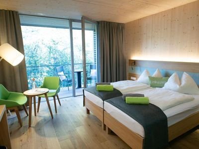 Photo for Single room with balcony, last minute offer - Heffterhof Salzburg, hotel