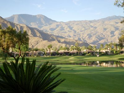 Photo for Striking Home With Superb Mountain Views In Pristine Rancho La Quinta