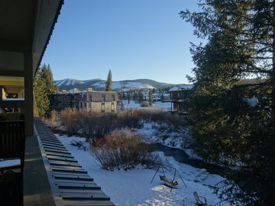 Photo for Perfect Mountain Getaway! Downtown Winter Park Condo On The Fraser River!
