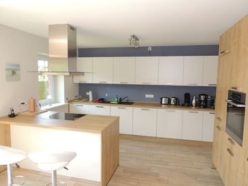 PixHues: Modern, generous, centrally (EC: 95 sqm and DG: 89 sqm) in Old Westerland - Wohnung EG