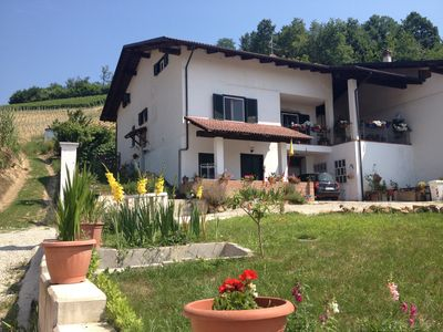 Photo for Apartment in the heart of the Langhe, Roero in UNESCO site