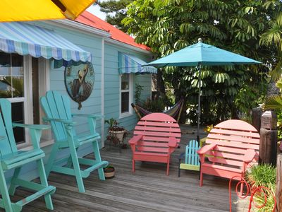 Photo for Pass-a-Grille's Waterfront Charmer, on Boca Ciega Bay in Historic Area