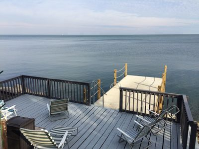 Pier and deck