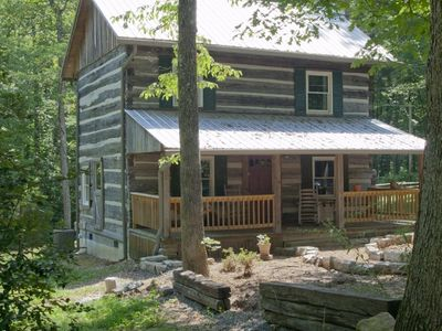Photo for 1790  Era Original Log Cabin in beautiful East Tennessee -  Samuel Harned Cabin