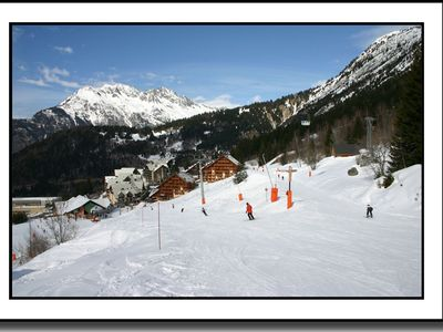 Photo for Cosy apartment (pool & sauna) - Oz en Oisans / Alpe d'Huez
