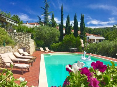 Photo for Luxury Home with private pool in Verona and Valpolicella