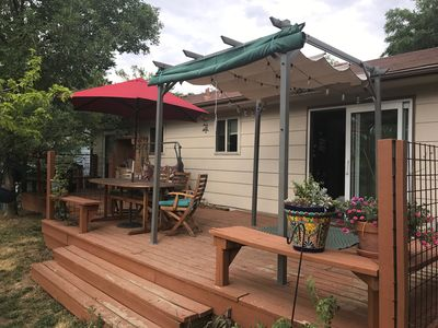 Photo for Family/Dog Friendly House Along Bike Trail, Huge Deck, Sleeps 6+