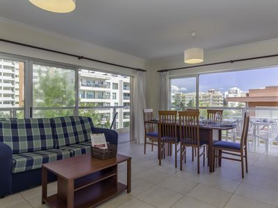 Photo for Praia da Rocha Spacious Flat apartment in Portimão with WiFi, private parking & balcony.