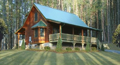 Photo for Beautiful Cabin w/River Lot! Rent  4+ Nites, get a Free nite! Holidays excluded