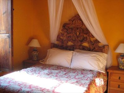 Sleep in the romance and comfort of fine quality sheets and feather pillows