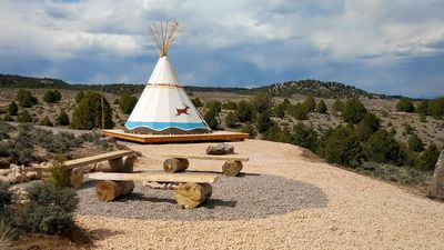 Photo for Running Deer TIPI near Bryce Canyon