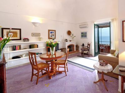 Photo for La Sosta is a nice apartment in Positano, walking distance to the beaches, 2 bedrooms 2 bathrooms, s