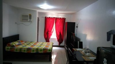 Photo for 26SQM RECENTLY REFURBISHED FULLY FURNISHED STUDIO CONDO URBAN DECA HOMES WIFI