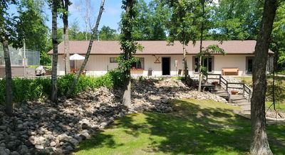 Photo for 2 bedroom apartment,  heated pool, rec room, located on river. 4 wheelers allowd