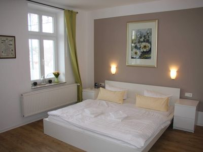 Photo for 2 rooms with balcony up to 2 persons - Villa Sanssouci in Binz - Spa villa for a fair price